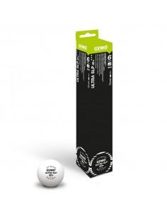 Balles en plastique GEWO Ultra SLP 40+ 3***. Pack 3