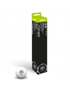 Plastic Ball GEWO Ultra SLP 40+ 3***. Pack 6