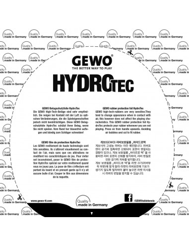 GEWO HydroTec Tensor Rubber Protection foil