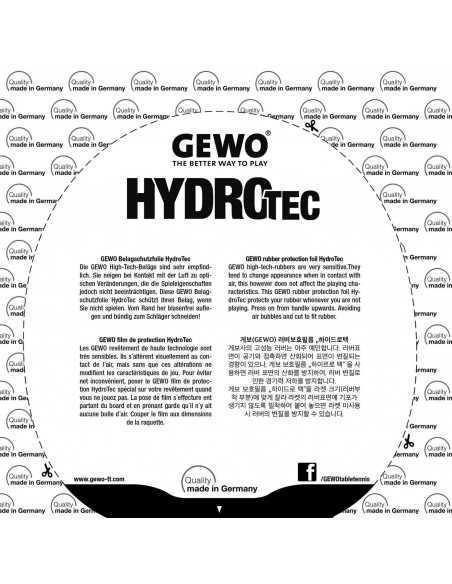 Film protector de gomas Gewo Hydrotec