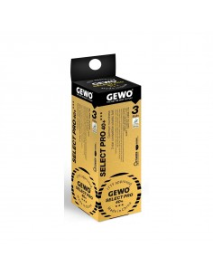 Balles GEWO Select Pro 40+ *** ABS Pack 3