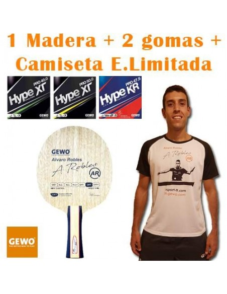 Pack GEWO Alvaro Robles OFF + T-Shirt A.Robles