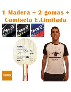 Pack GEWO Alvaro Robles OFF- + T-Shirt A.Robles