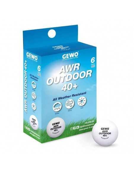 Balle GEWO AWR Outdoor 40+ ball pack 6