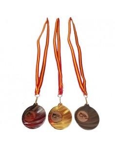 Médaille de tennis de table