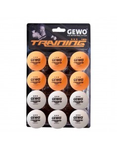 GEWO Trainingsball *** 40+ 12er (je 6x weiß+orange)