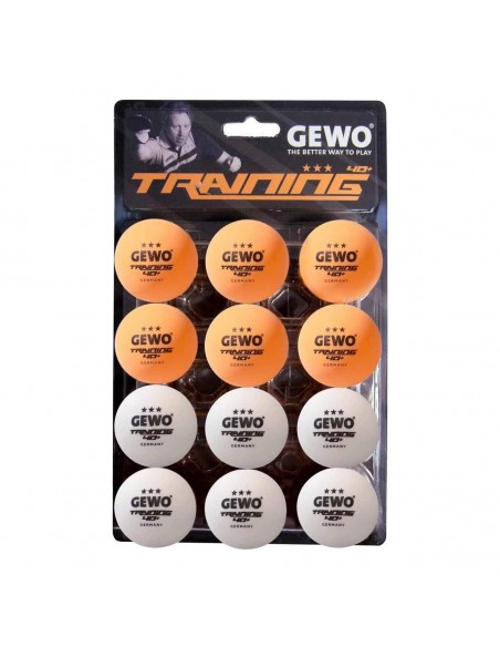 GEWO Training ball *** 40+ 12er (Two Colors)